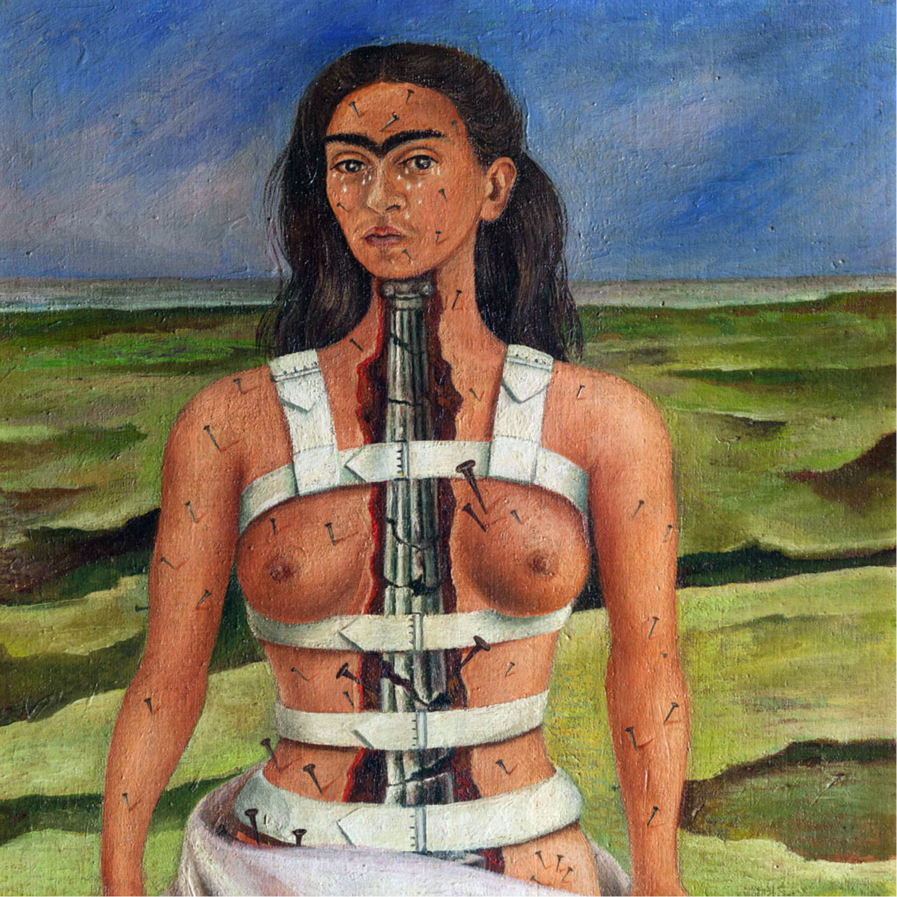 FRIDA KAHLO PAINTINGS AND DRAWINGS FROM MEXICO'S COLLECTIONS