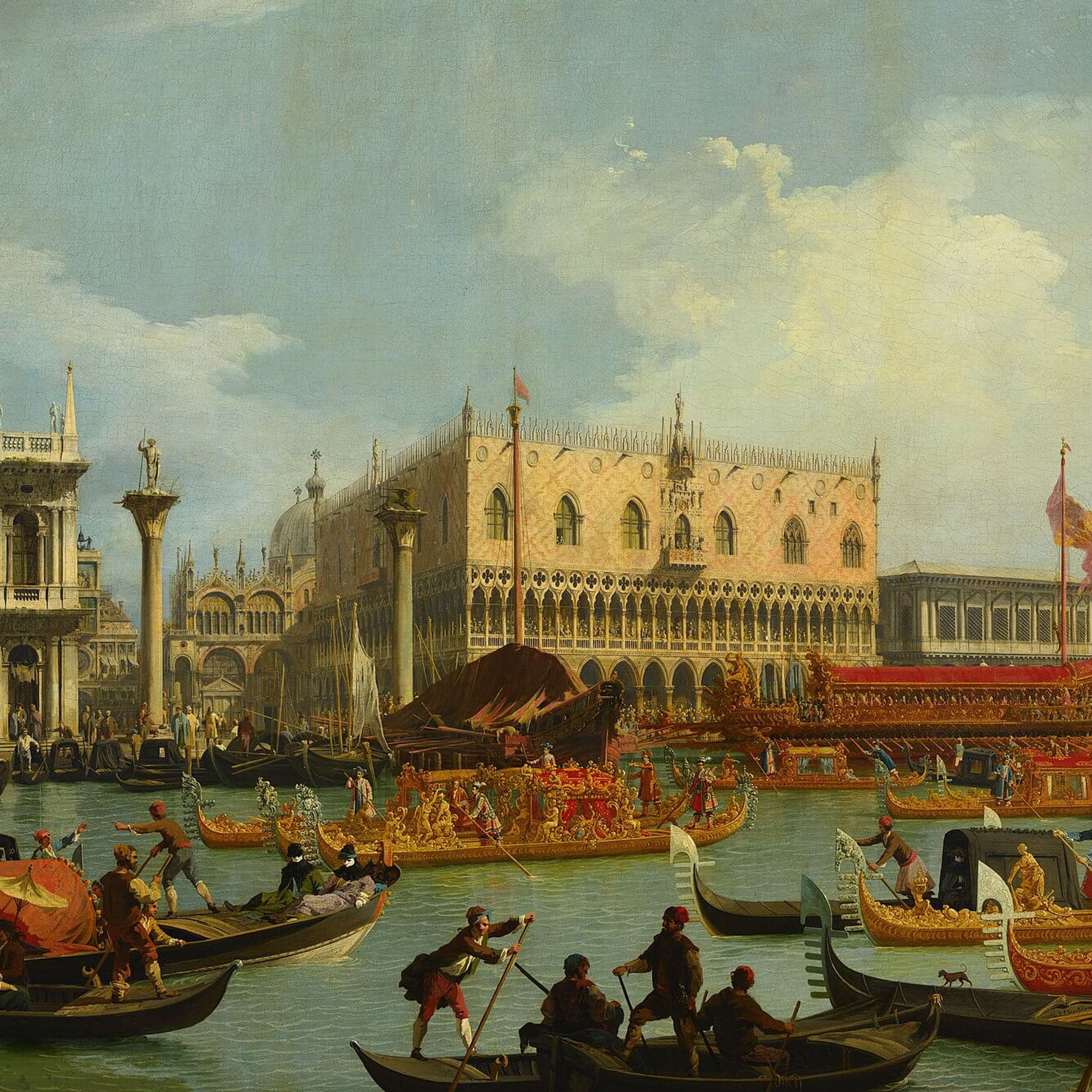GLORY OF LIGHT AND COLOUR. FROM TIEPOLO TO CANALETTO AND GUARDI